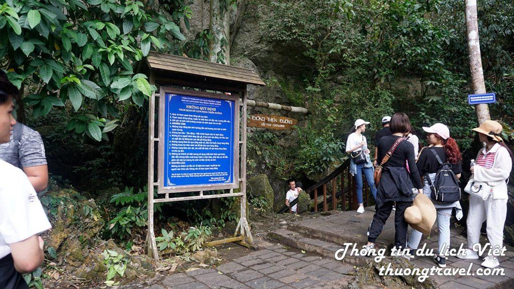 Lối đi vào Động Thiên Đường