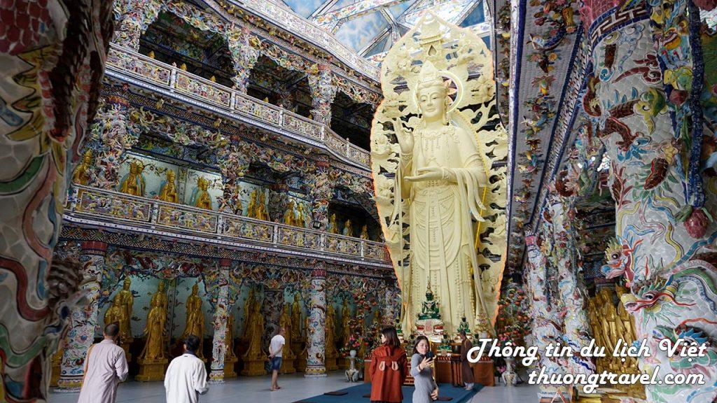 Tượng Phật làm bằng bê tông cốt thép cao nhất Việt Nam