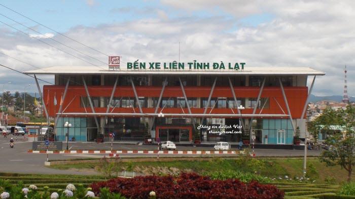 Bến xe liên tỉnh tại Đà Lạt