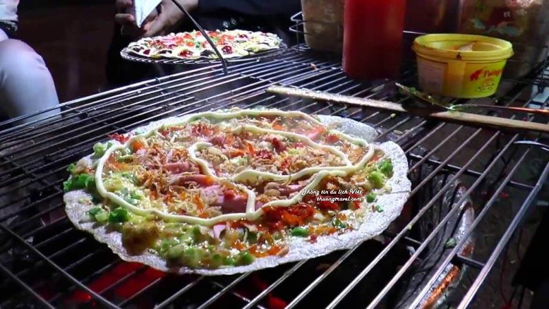 Bánh tráng nướng - pizza Đà Lạt
