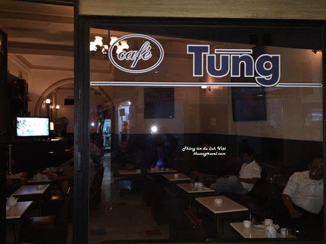 Cafe Tùng tại Đà Lạt