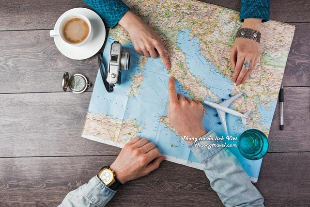 Bản đồ du lịch- rất cần khi đi du lịch